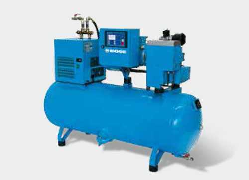 BOGE Compressed air center C 4 LDR to C 7 LDR Industrial Air Compressors For Sale