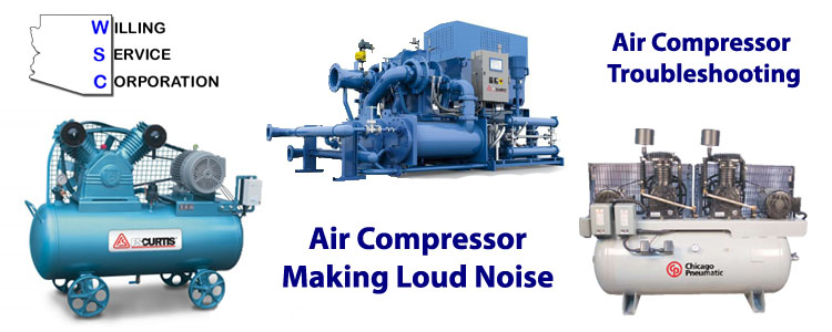 Air Compressor Making Loud Noise | Knocking | Rattling - WSC