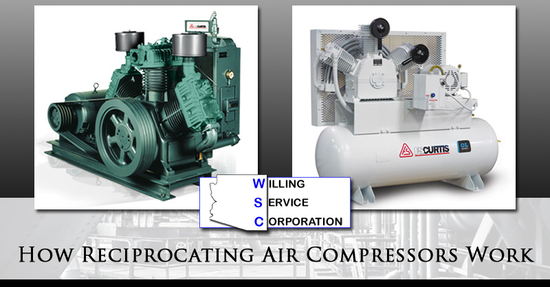 How Reciprocating Air Compressors Work